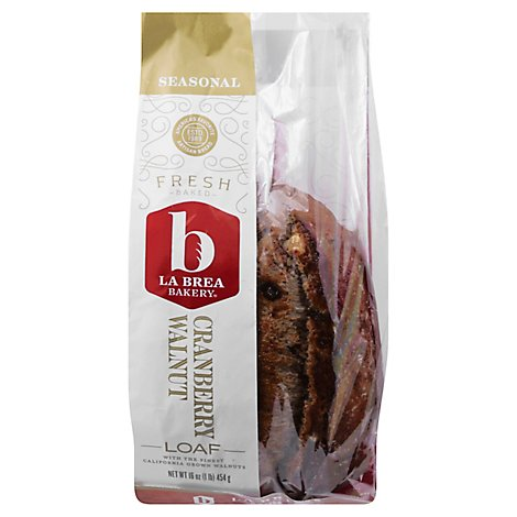La Brea Loaf Walnut Cranberry - 16 Oz