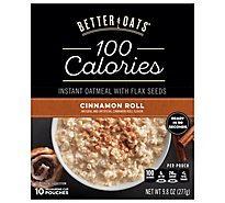 Better Oats Oat Fit Oatmeal Instant Cinnamon Roll - 10 Count