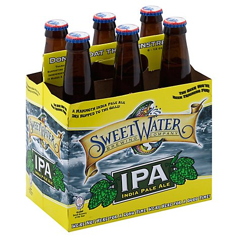 SweetWater Beer IPA India Pale Ale - 6-12 Fl. Oz.