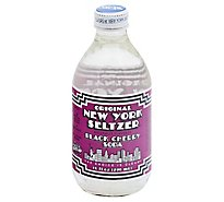 Original New York Seltzer Soda Black Cherry - 10 Fl. Oz.