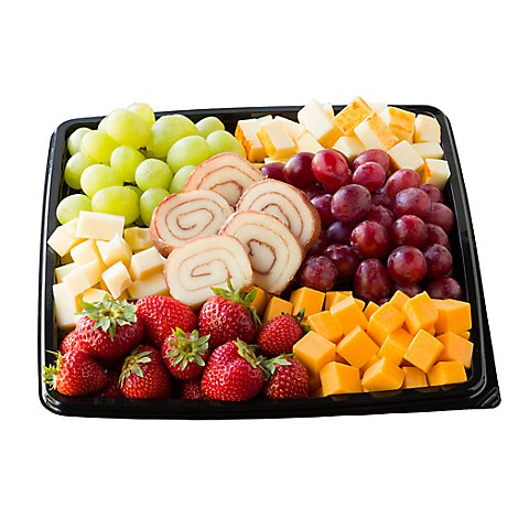 Signature Cafe Deli Catering Tray Fruit & Cheese - Each