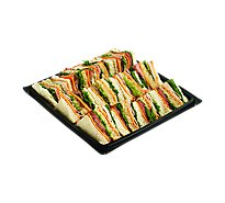 Deli Catering Tray Club Sandwich