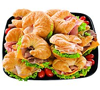 Deli Catering Tray Signature Cafe Deli Sandwich Croissant - 32 Oz