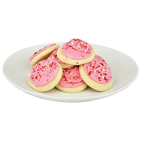 Cookie Frosted Sugar Candy Cane - Each
