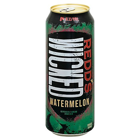 Redds Wicked Watermelon Ale Beer Can 8% ABV - 24 Fl. Oz.