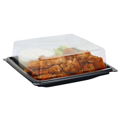 Deli Catering Tray Wings Buffalo Tray - Each