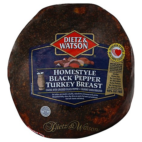 Dietz & Watson Snack Pack Turkey Breast Gourmet Lite - 12 Oz (760 Cal)
