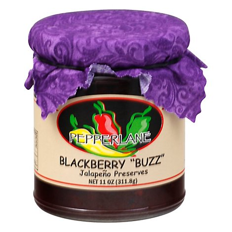 Pepperlane Preserves Blackberry Buzz - 11 Oz