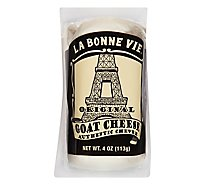 La Bonne Vie Cheese Goat Original - 4 Oz