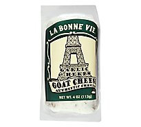La Bonne Vie Cheese Goat Garlic & Herb - 4 Oz