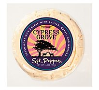Cypress Grove Sergeant Pepper Goat Chse - 4 Oz