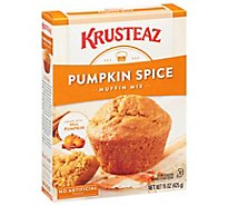 Krusteaz Supreme Muffin Mix Pumpkin Spice - 15 Oz