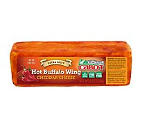 Cabot Cheese Cheddar Hot Buffalo Wing Extra Spicy - 8 Oz