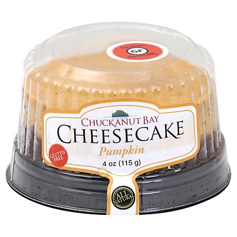Cake Cheesecake Single Serve Pumpkin - Each