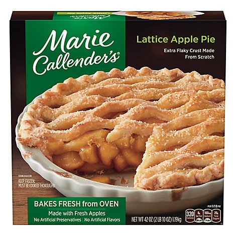 Marie Callenders Pie Lattice Apple - 42 Oz