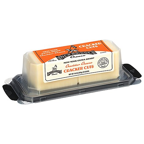 New Bridge Cracker Cut Cheddar - 10 Oz