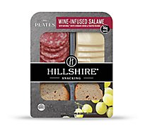 Hillshire Snacking Small Plates Wine-Infused Salame with White Cheddar Cheese - 2.76 Oz