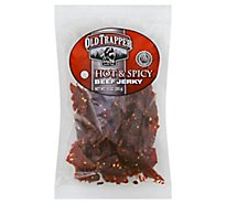 Old Trapper Beef Jerky Hot & Spicy - 10 Oz