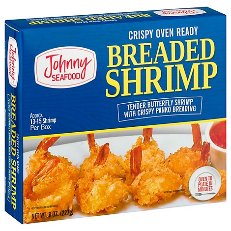 Legal Seafood Breaded Butterfly Shrimp - 10 Oz