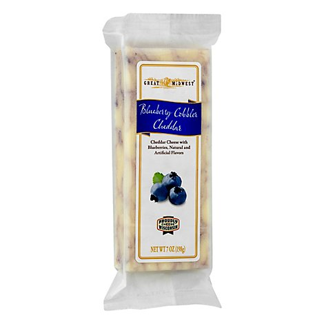 Great Midwest Cheese Blueberry Cheddar - 7 Oz