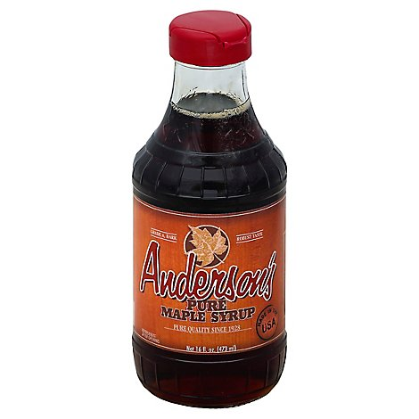 Andersons Maple Syrup Pure - 16 Fl. Oz.