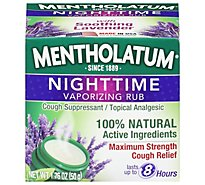 Mentholatum Nighttime Vaporizing Rub - 1.76 Oz