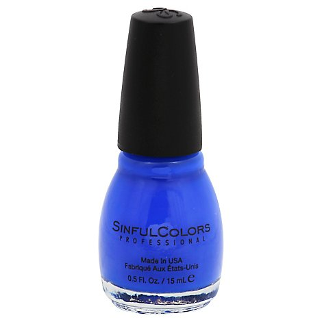 Sinful Nail Endless Blue - Each