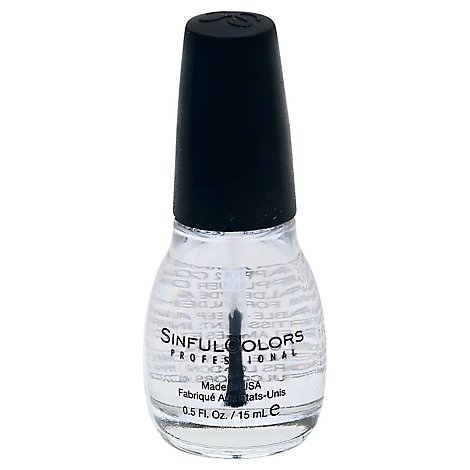 Sinful Nail Clearcoat - Each