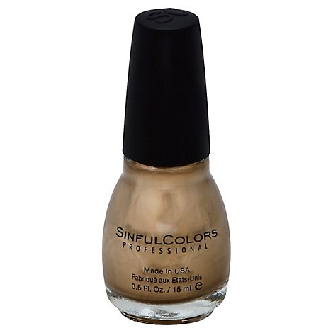 Sinful Nail Tough Love Gold Medal - .50 Oz