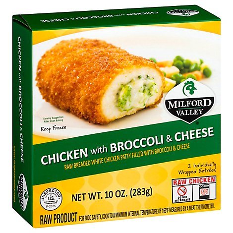 Milford Valley Chicken With Broccoli And Cheese - 10 Oz