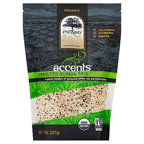 Tru Roots Accents Sprouted Quinoa Trio - 8 Oz