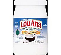 LouAna Coconut Oil Organic Pure - 14 Fl. Oz.