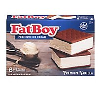 Fat Boy Sandwich Vanilla - 6 Count