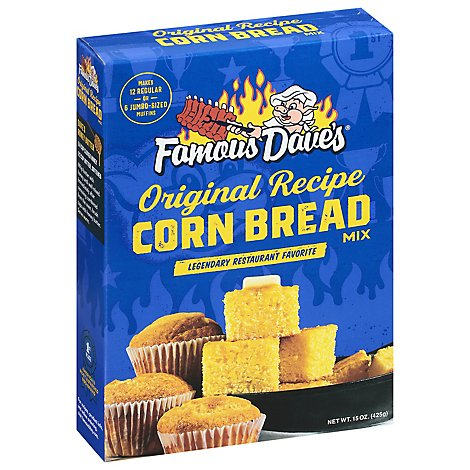 Famous Daves Corn Bread Mix - 15 Oz