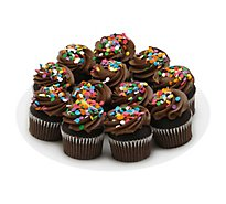 Bakery Cupcake Chocolate 9 Count - Each