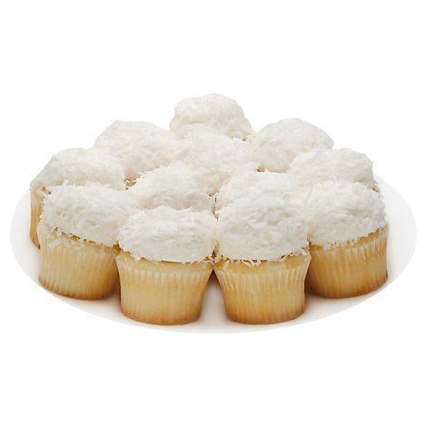 Bakery Cake Cupcake White 9 Count - Each