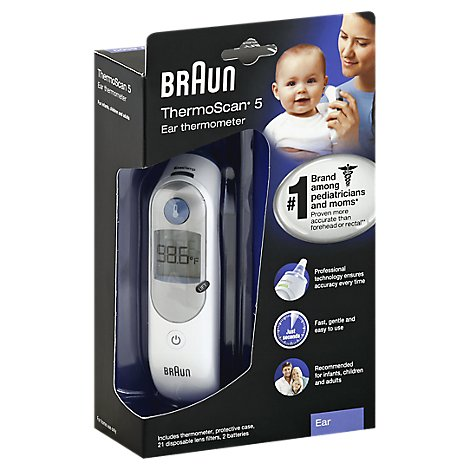 Braun ThermoScan 5 Thermometer Ear - Each