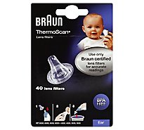 Braun ThermoScan Lens Filters Ear - 40 Count