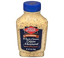 D&W Whole Grain Dijon Mustard - 9 Oz