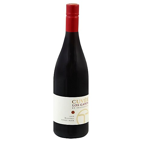 Cuvee Los Gatos Wine Pinot Noir - 750 Ml