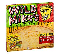 Wild Mikes Ultimate Pizza Super Sized 4 Cheese Frozen - 36.3 Oz