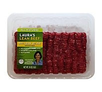 Lauras Beef Ground Beef 92% Lean 8% Fat - 16 Oz