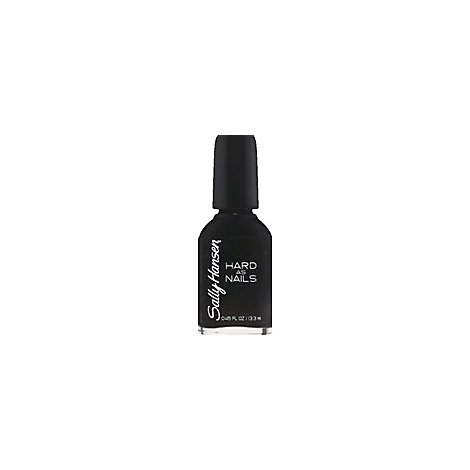 Sally Hansen Hard As Nails Heart Black - .45 Oz