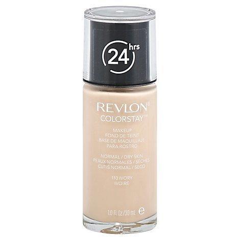 Revlon ColorStay Makeup 24 Hrs Normal/Dry Skin Ivory 110 - 1 Fl. Oz.