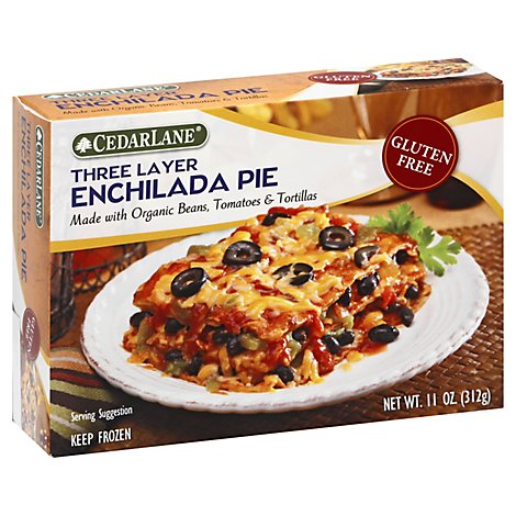 Cedar Lane Enchilada Pie Three Layer Gluten Free - 11 Oz