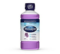 Pedialyte Electrolyte Solution Ready To Drink Grape - 33.8 Fl. Oz.