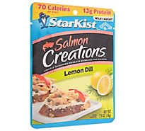 StarKist Salmon Creations Salmon Skinless Boneless Lemon Dill - 2.6 Oz