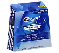 Crest 3D White Whitestrips Dental Whitening Kit Professional Effects - 40 Count