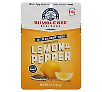 Bumble Bee Tuna Seasoned Lemon & Pepper - 2.5 Oz
