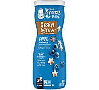 Gerber Graduates Puffs Blueberry - 1.48 Oz
